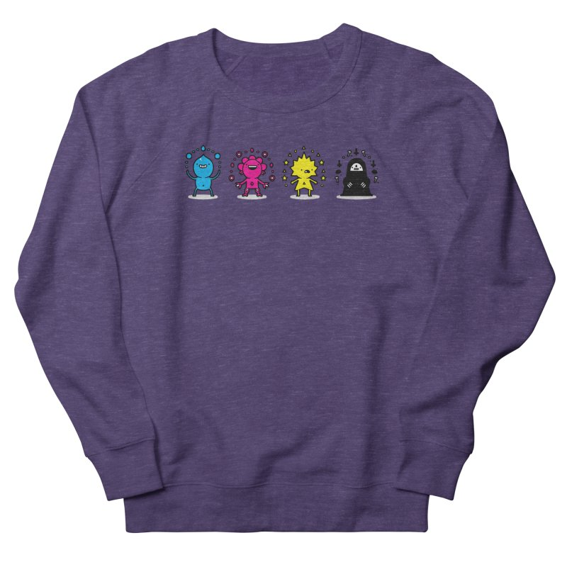 CMYK Men's French Terry Sweatshirt by Randyotter