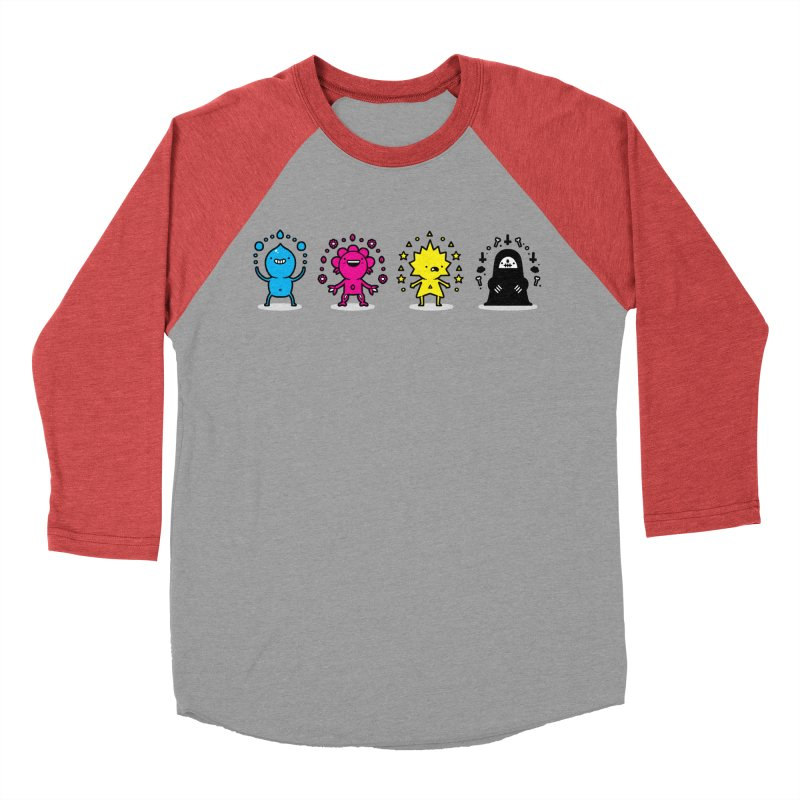 CMYK Men's Longsleeve T-Shirt by Randyotter