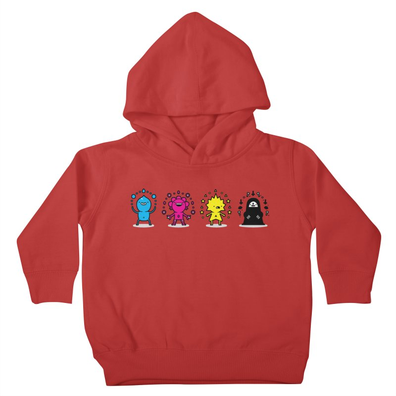 CMYK Kids Toddler Pullover Hoody by Randyotter