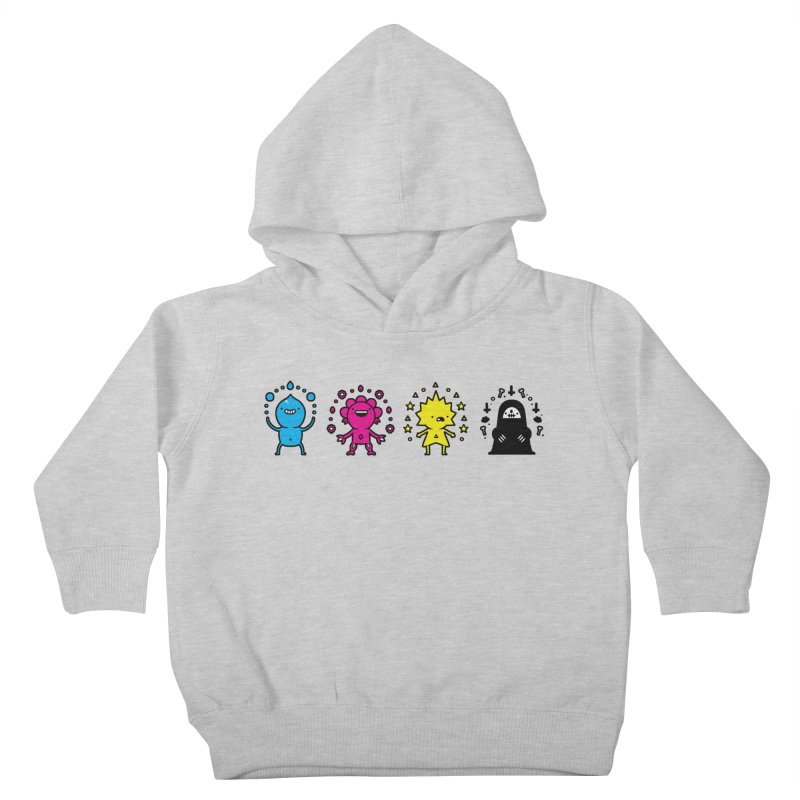 CMYK Kids Toddler Pullover Hoody by Randyotter