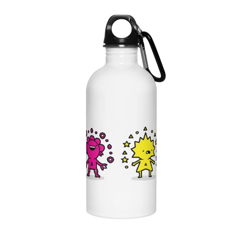 CMYK Accessories Water Bottle by Randyotter