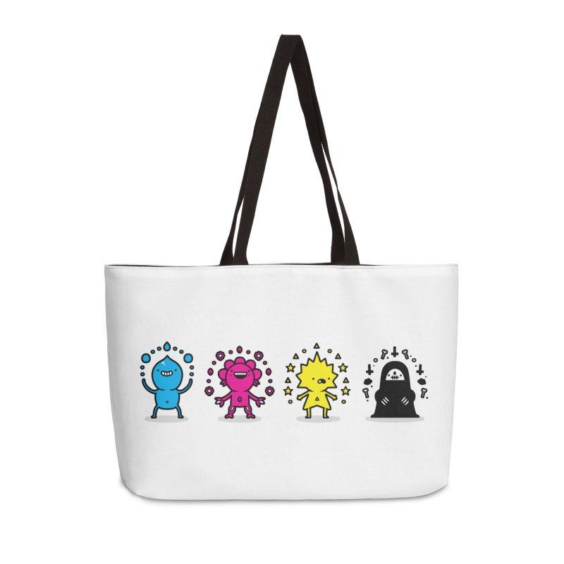 CMYK Accessories Weekender Bag Bag by Randyotter