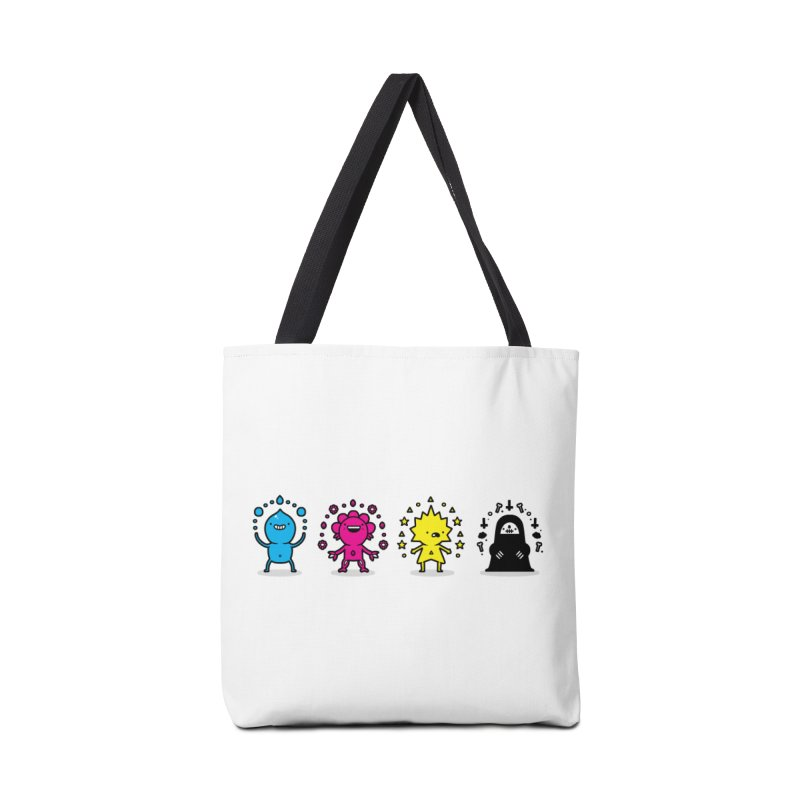 CMYK Accessories Bag by Randyotter