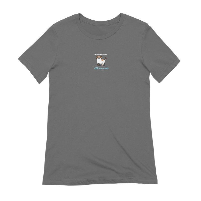 Collar Blind Women's T-Shirt by Randyotter