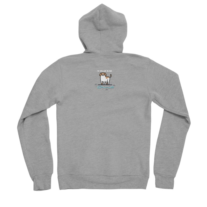 Collar Blind Men's Zip-Up Hoody by Randyotter