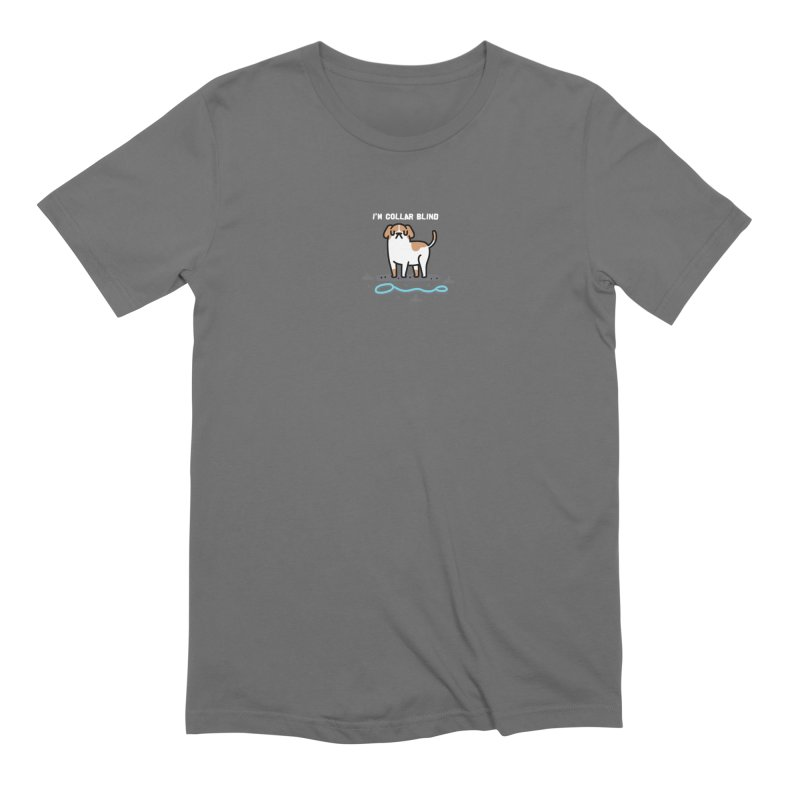 Collar Blind Men's T-Shirt by Randyotter