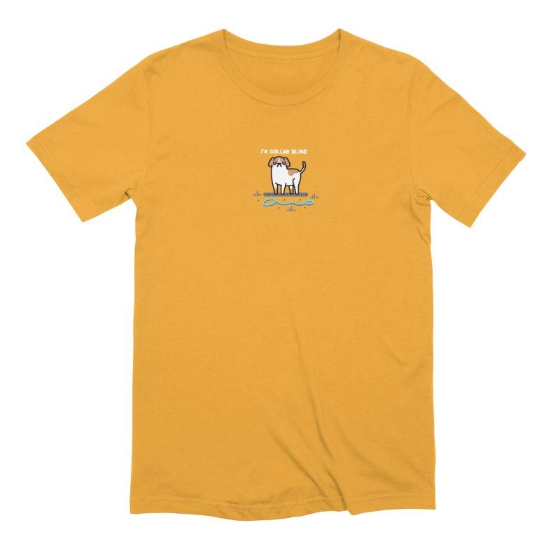 Collar Blind Men's Extra Soft T-Shirt by Randyotter