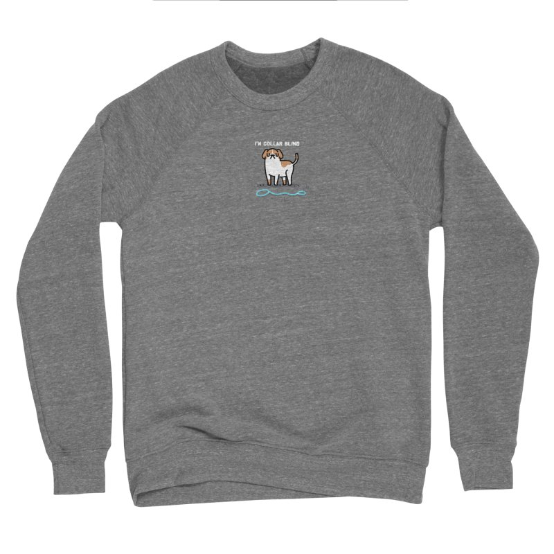 Collar Blind Men's Sponge Fleece Sweatshirt by Randyotter