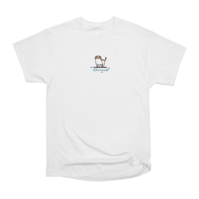 Collar Blind Women's Heavyweight Unisex T-Shirt by Randyotter