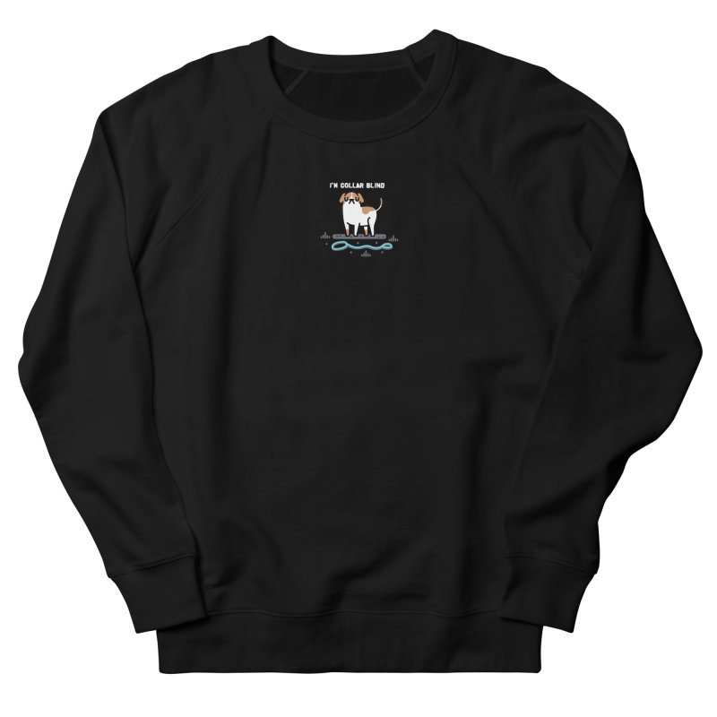 Collar Blind Men's French Terry Sweatshirt by Randyotter