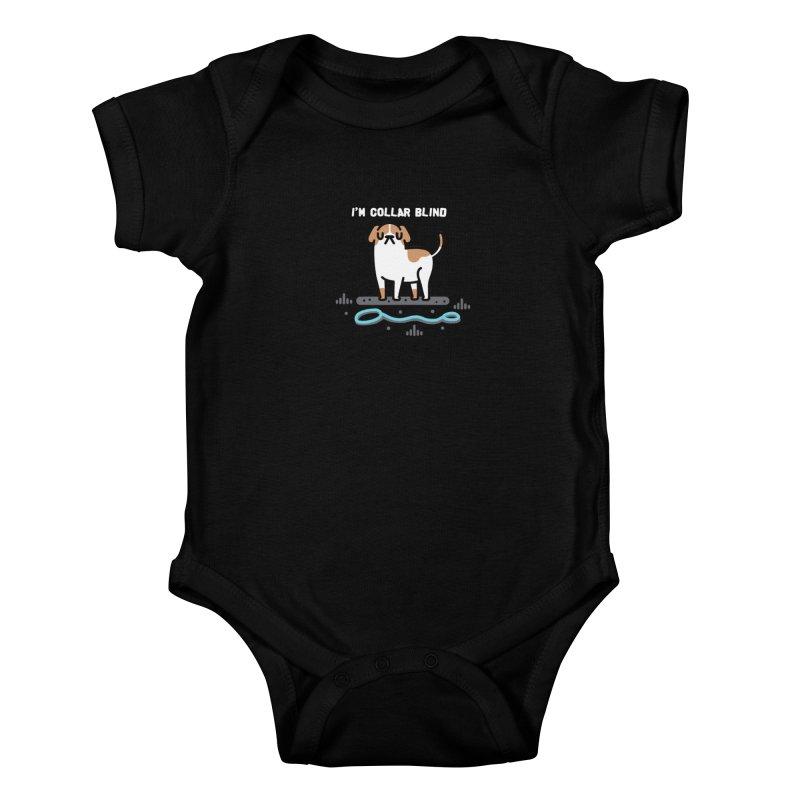 Collar Blind Kids Baby Bodysuit by Randyotter