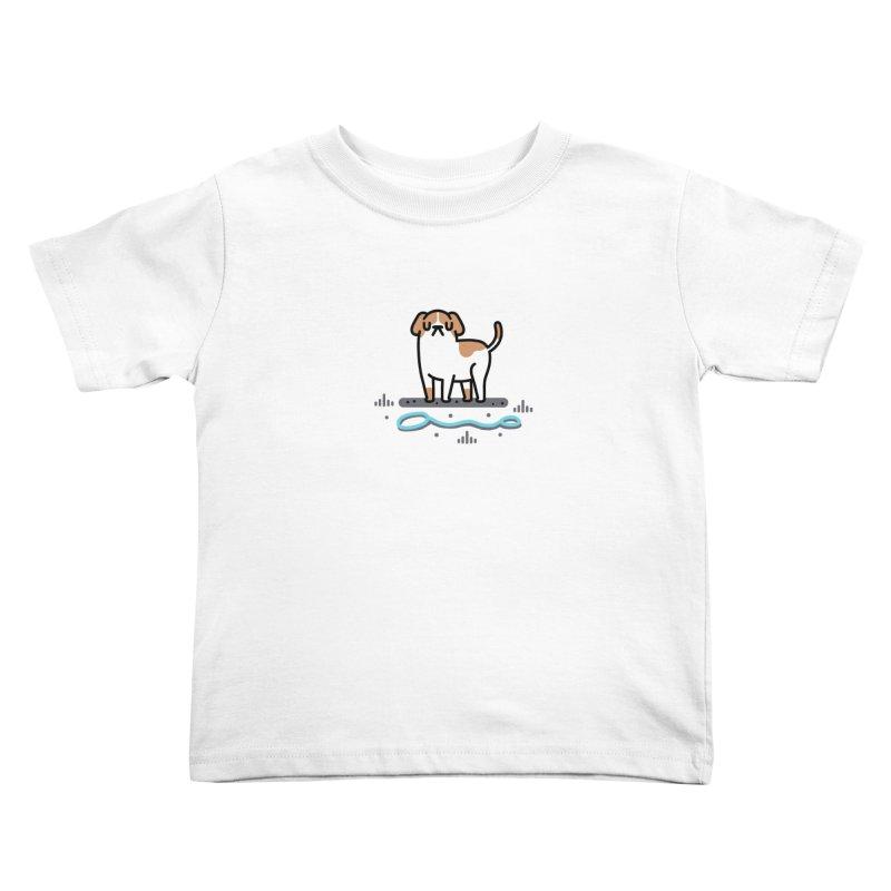Collar Blind Kids Toddler T-Shirt by Randyotter