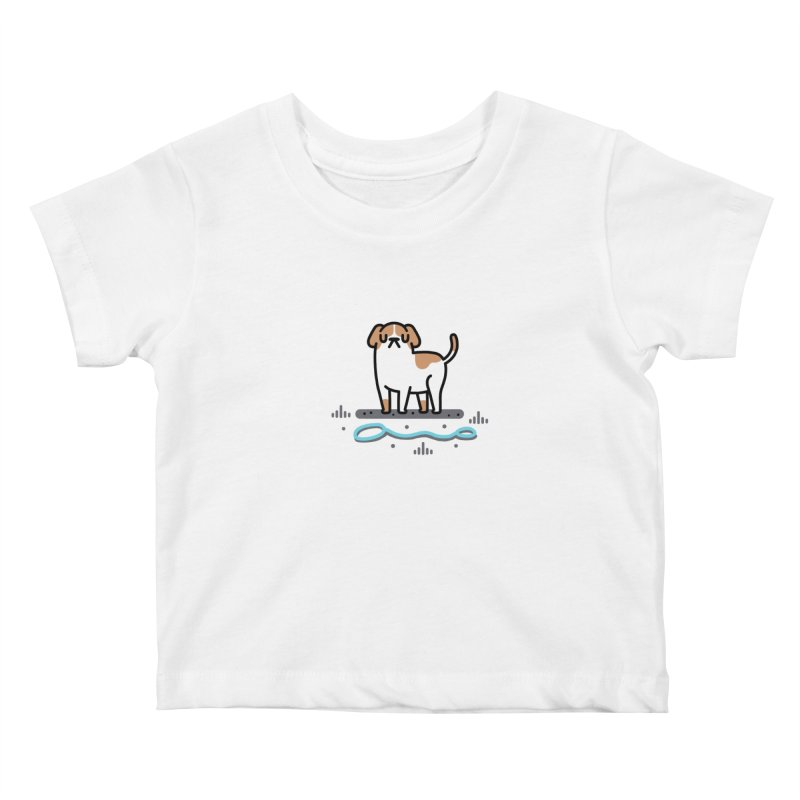 Collar Blind Kids Baby T-Shirt by Randyotter