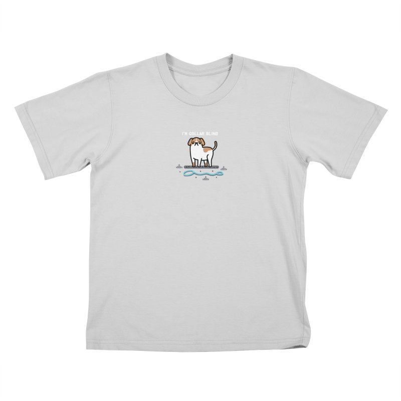 Collar Blind Kids T-Shirt by Randyotter