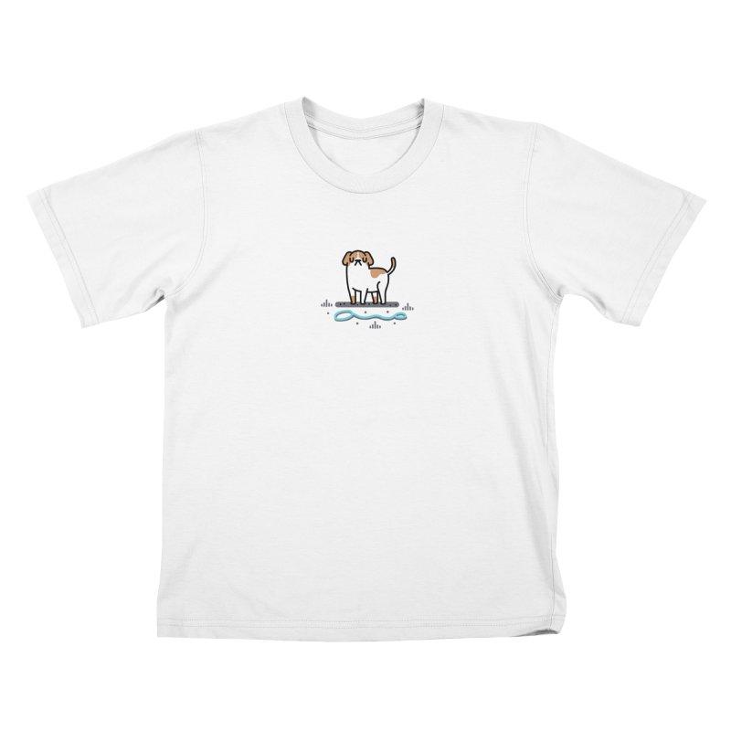 Collar Blind Kids T-Shirt by Randyotter