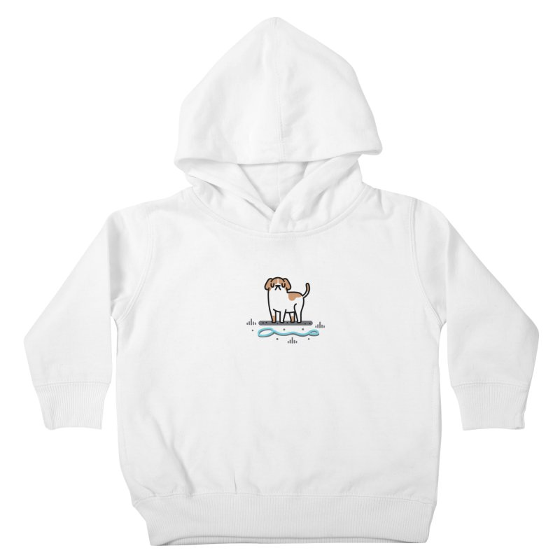 Collar Blind Kids Toddler Pullover Hoody by Randyotter