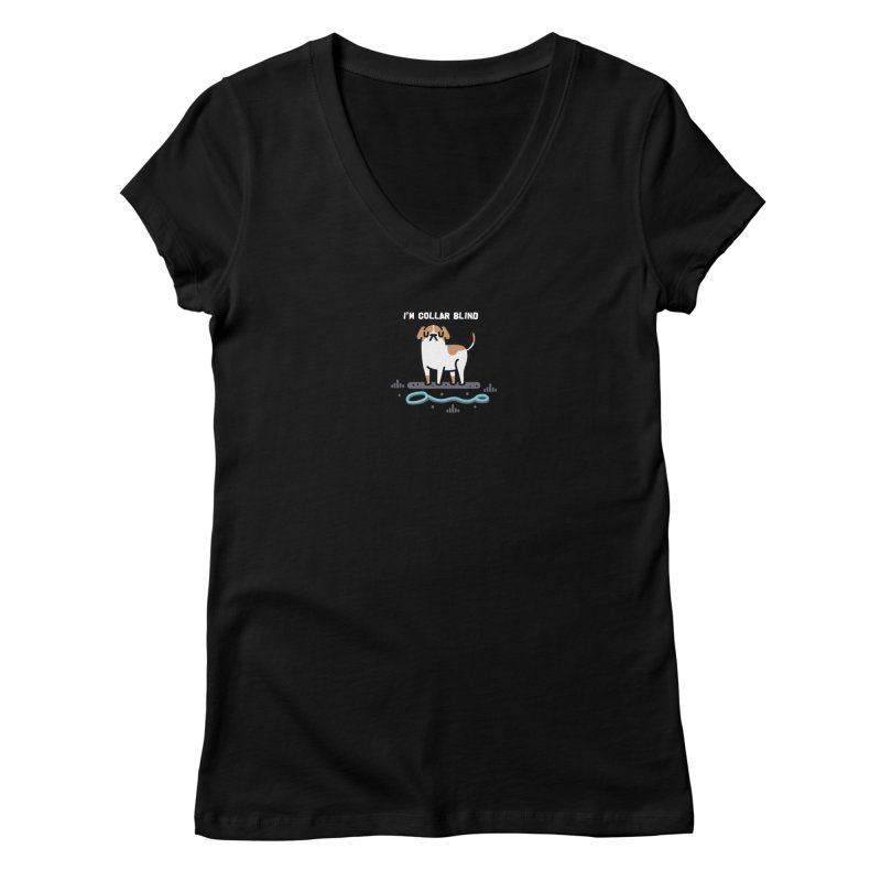 Collar Blind Women's V-Neck by Randyotter