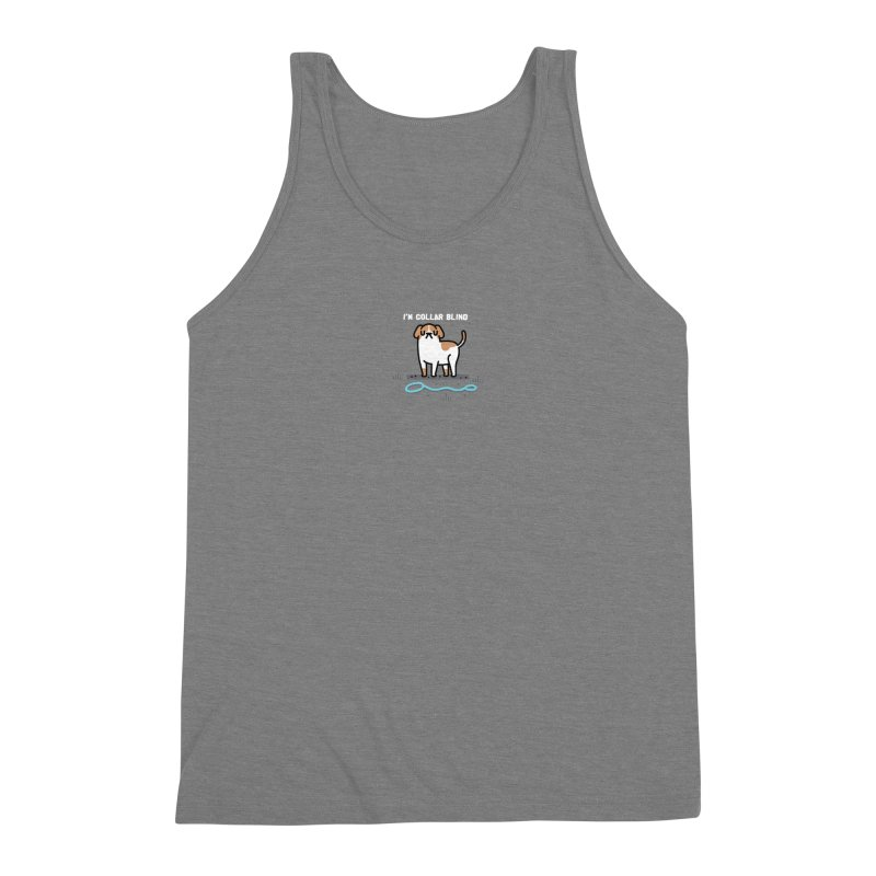 Collar Blind Men's Triblend Tank by Randyotter
