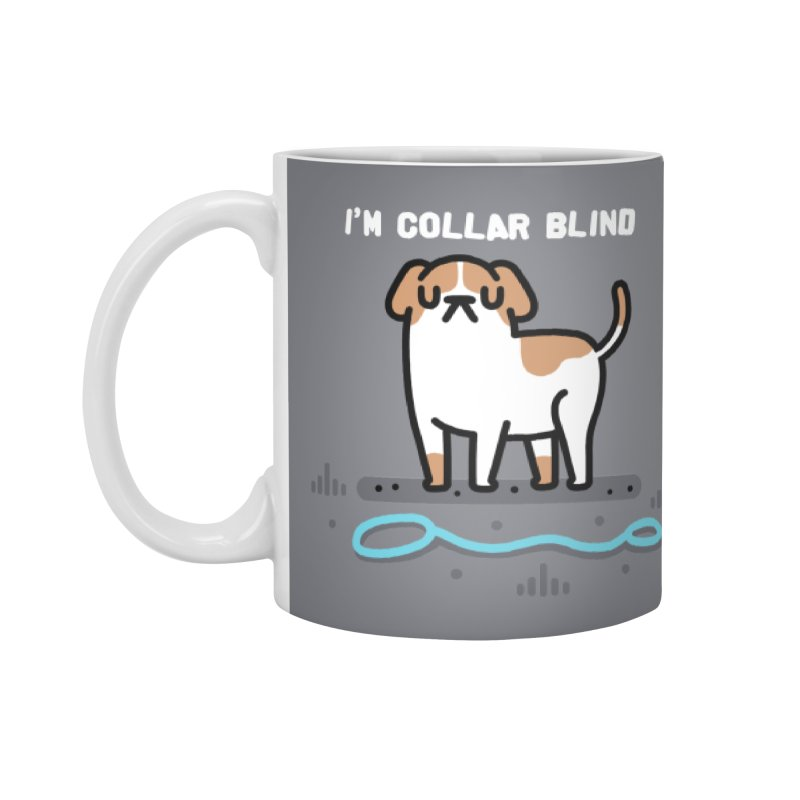 Collar Blind Accessories Mug by Randyotter