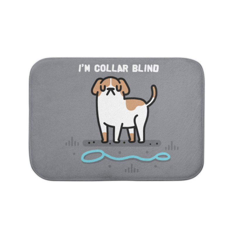 Collar Blind Home Bath Mat by Randyotter