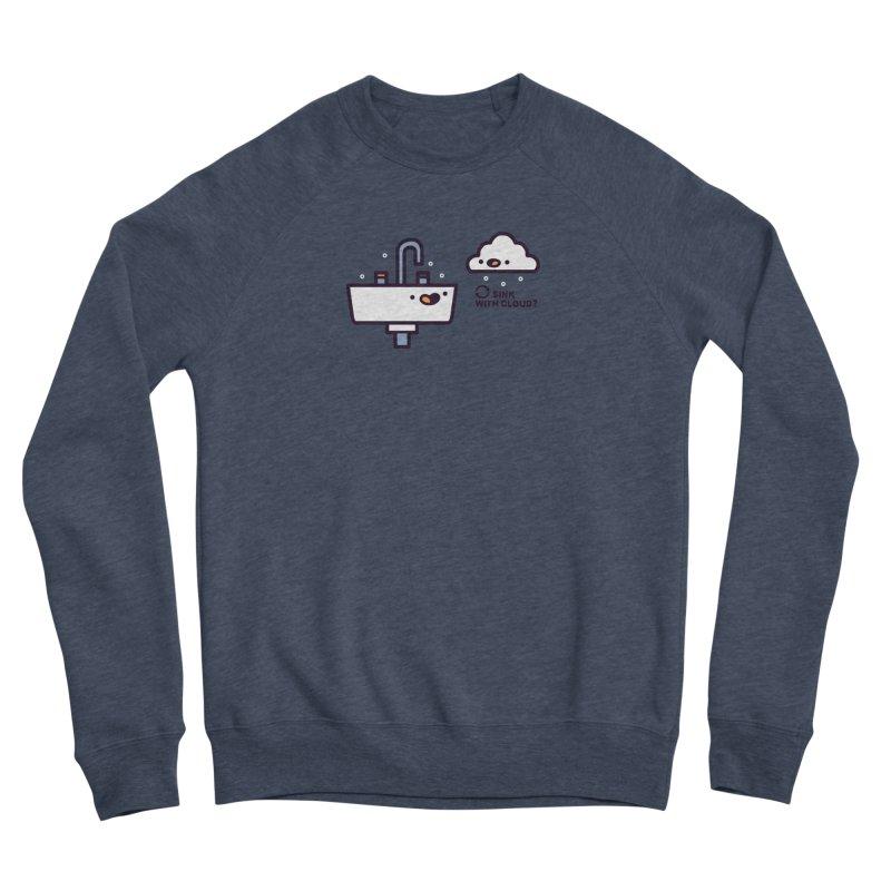 In sync Men's Sponge Fleece Sweatshirt by Randyotter