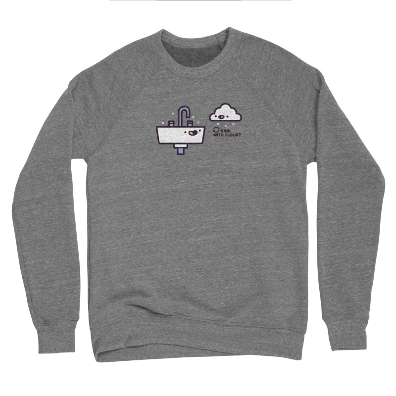 In sync Women's Sponge Fleece Sweatshirt by Randyotter