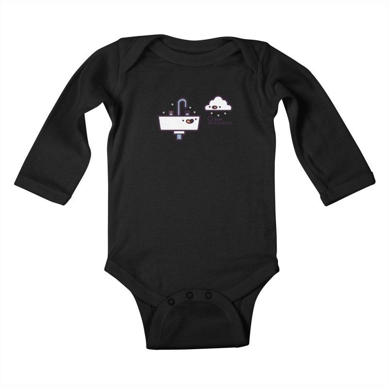 In sync Kids Baby Longsleeve Bodysuit by Randyotter