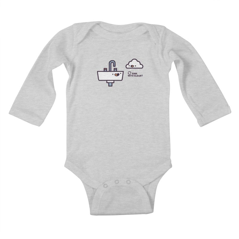 In sync Kids Baby Longsleeve Bodysuit by Randyotter