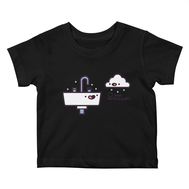 In sync Kids Baby T-Shirt by Randyotter
