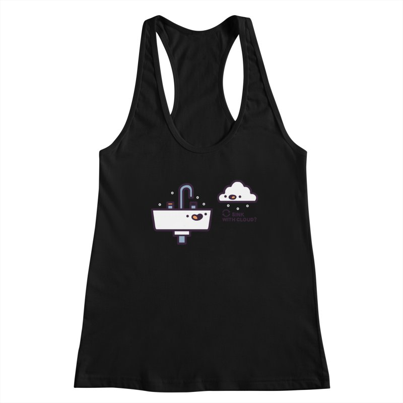 In sync Women's Racerback Tank by Randyotter