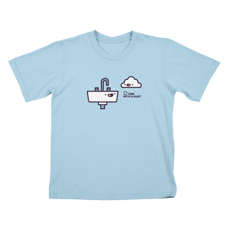 In sync Kids T-Shirt by Randyotter