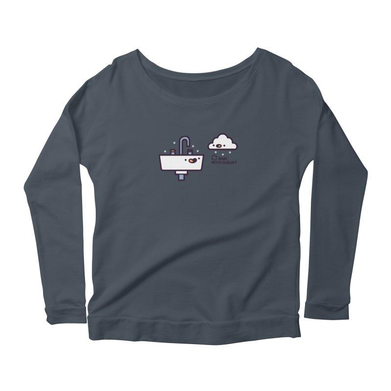 In sync Women's Scoop Neck Longsleeve T-Shirt by Randyotter