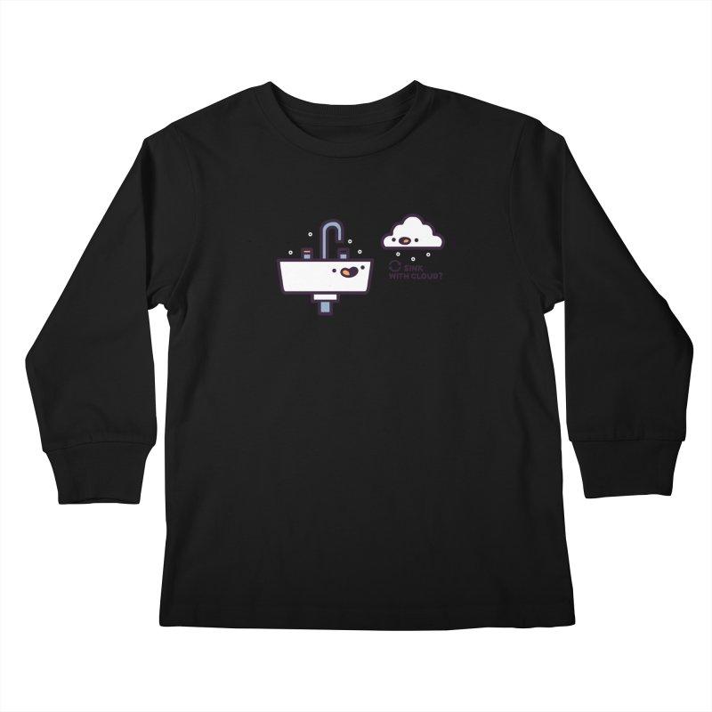 In sync Kids Longsleeve T-Shirt by Randyotter
