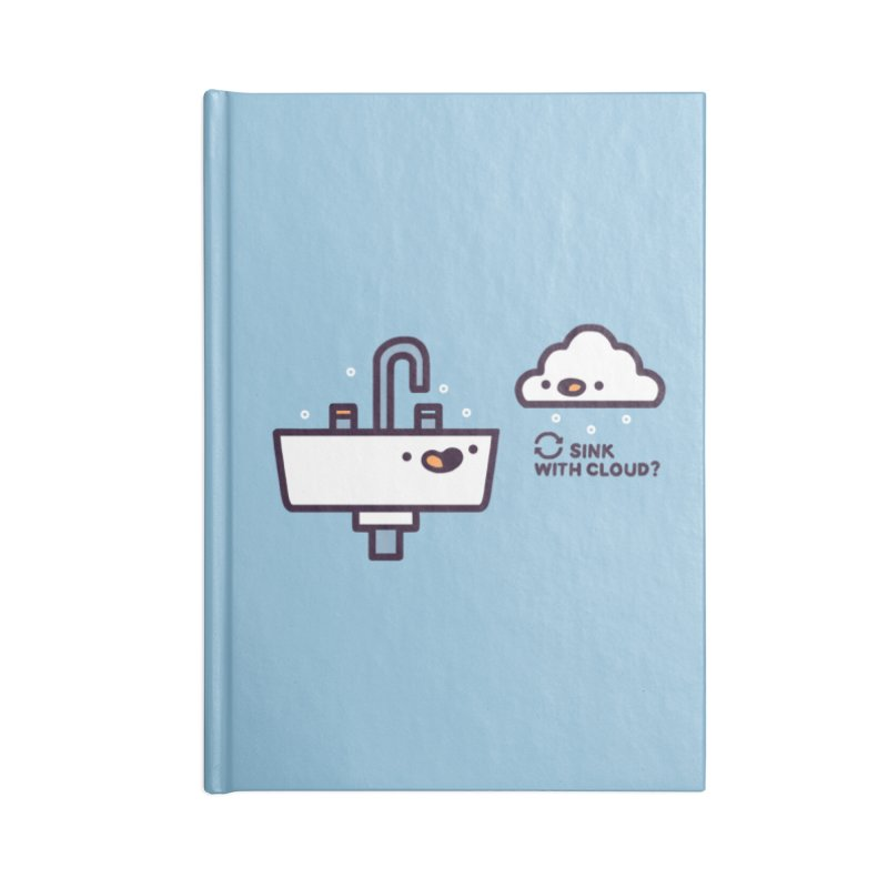In sync Accessories Blank Journal Notebook by Randyotter