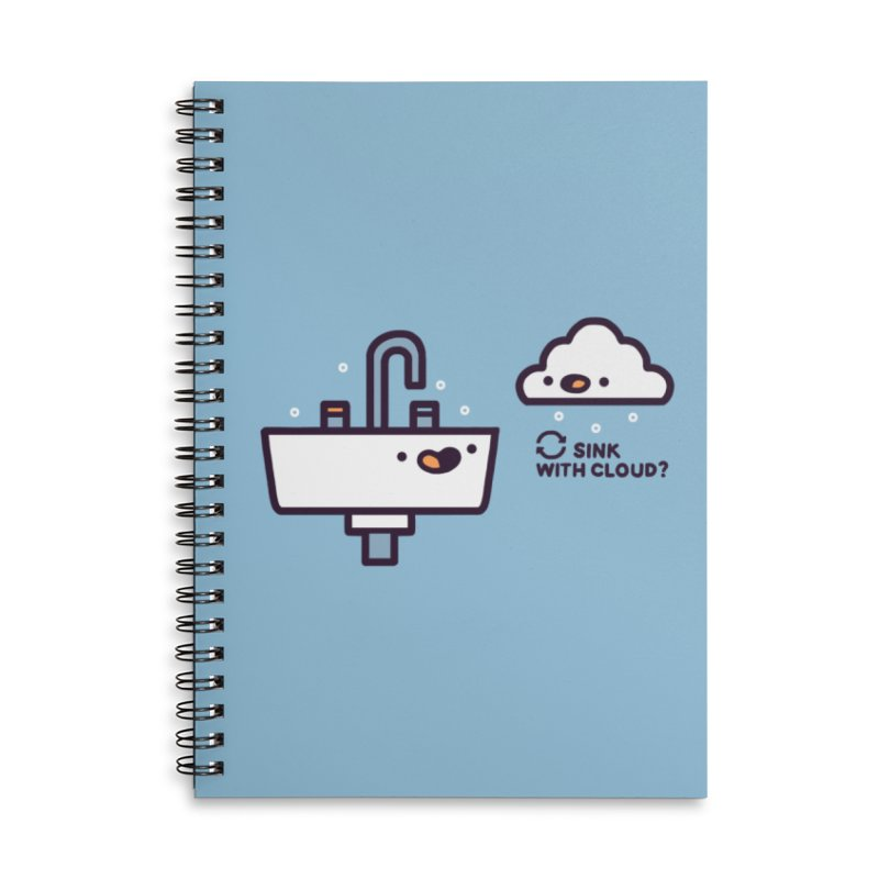 In sync Accessories Lined Spiral Notebook by Randyotter