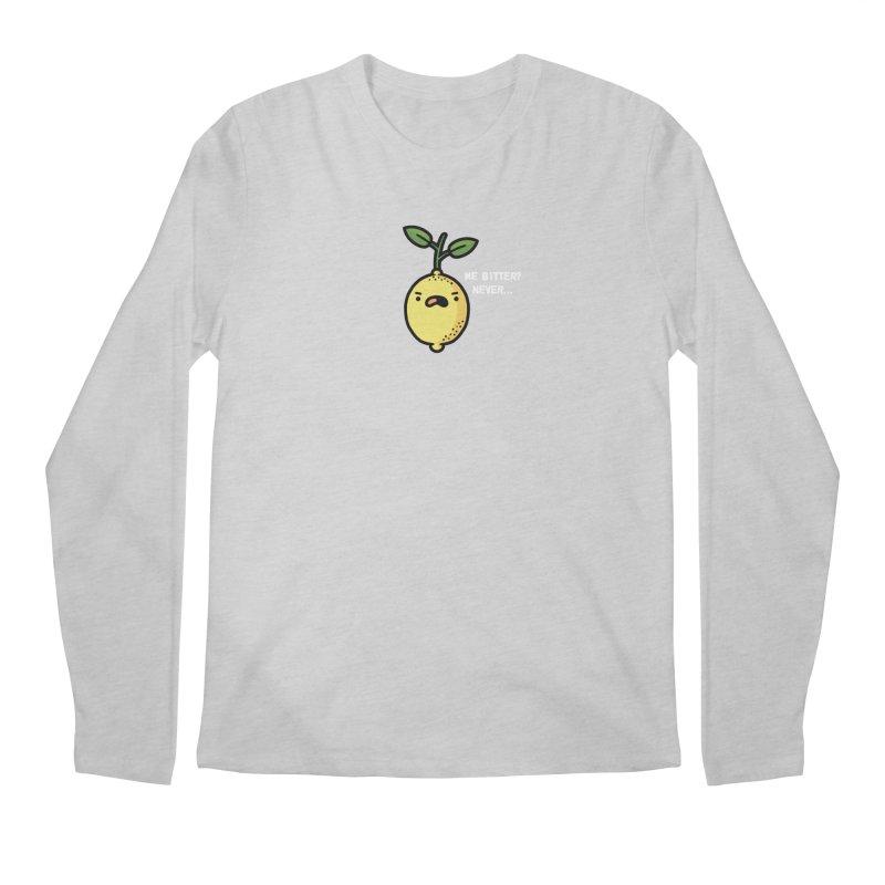 Bitter Men's Regular Longsleeve T-Shirt by Randyotter
