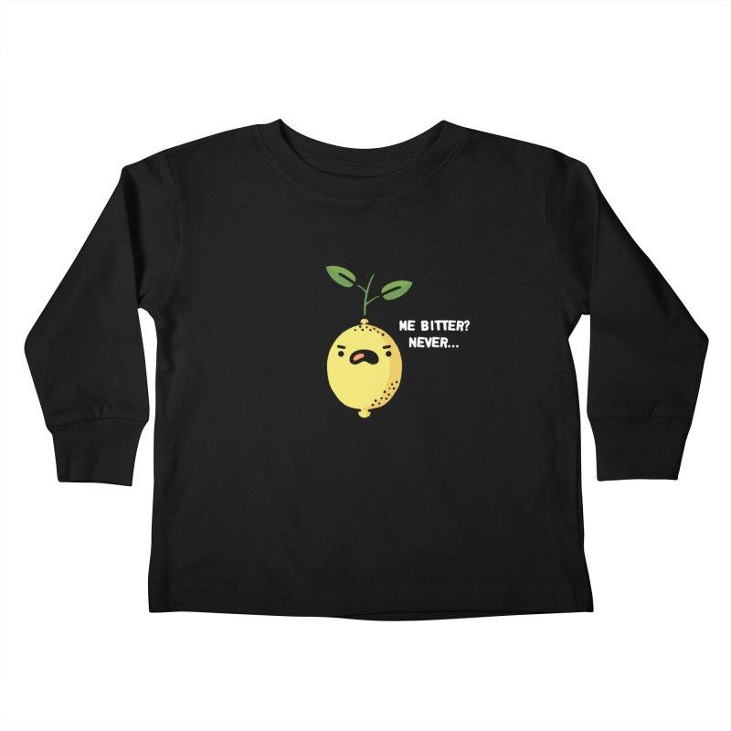 Bitter Kids Toddler Longsleeve T-Shirt by Randyotter