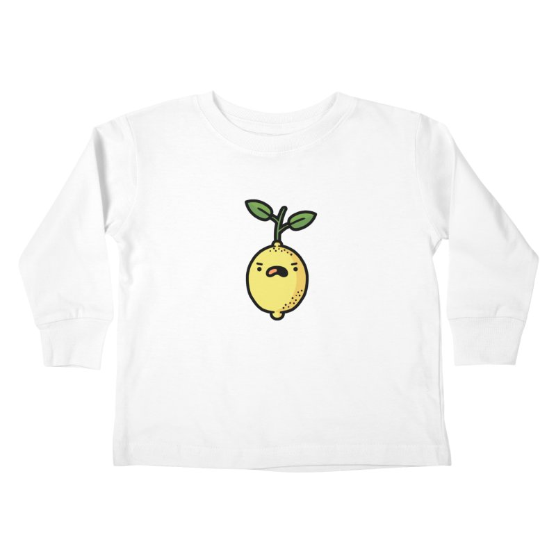 Bitter Kids Toddler Longsleeve T-Shirt by Randyotter