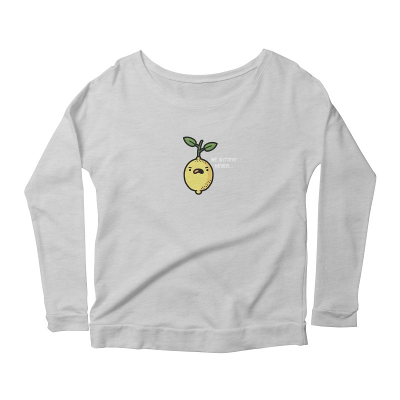 Bitter Women's Scoop Neck Longsleeve T-Shirt by Randyotter