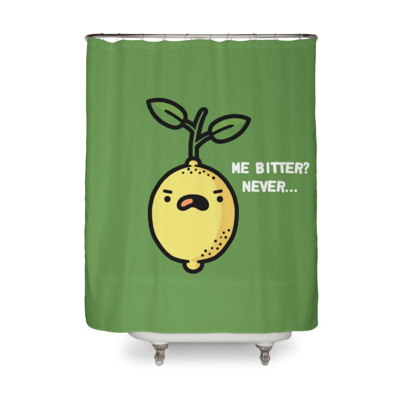 Bitter Home Shower Curtain by Randyotter