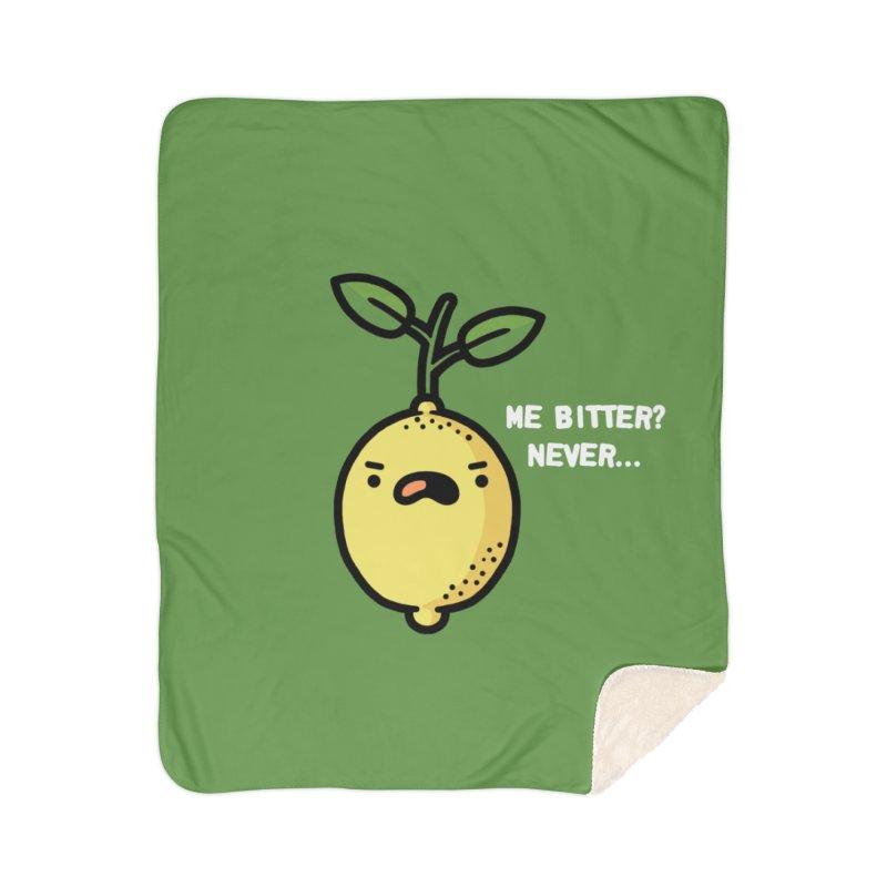 Bitter Home Sherpa Blanket Blanket by Randyotter