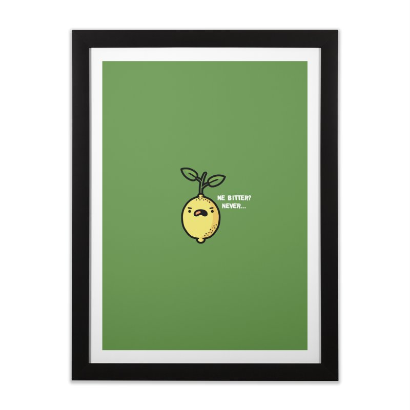 Bitter Home Framed Fine Art Print by Randyotter