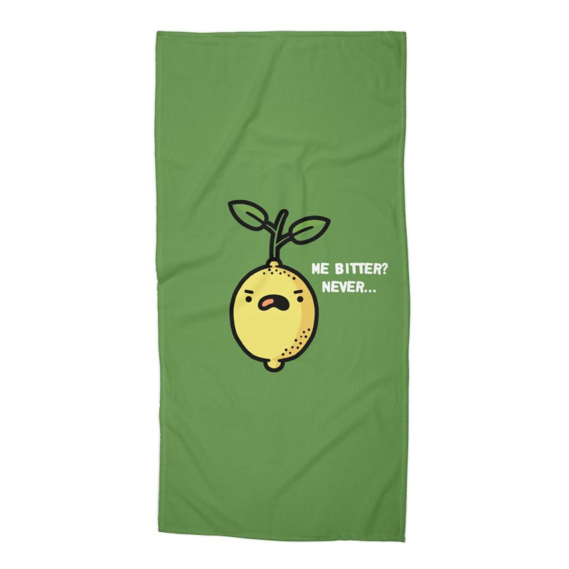 Bitter Accessories Beach Towel by Randyotter