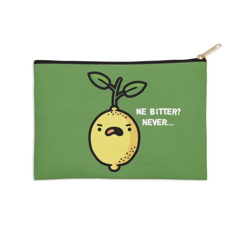 Bitter Accessories Zip Pouch by Randyotter