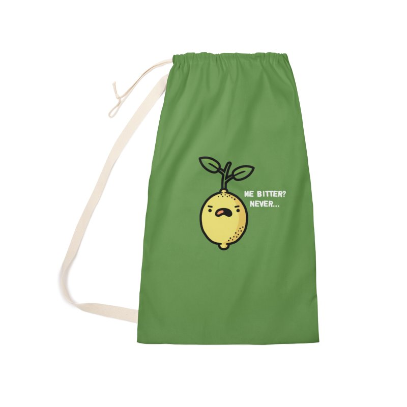 Bitter Accessories Laundry Bag Bag by Randyotter