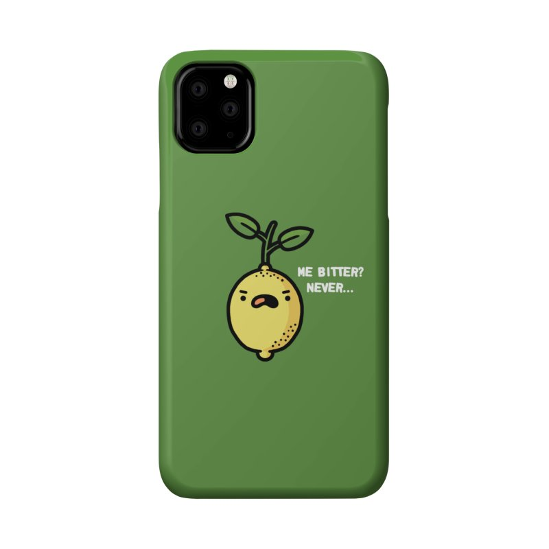Bitter Accessories Phone Case by Randyotter