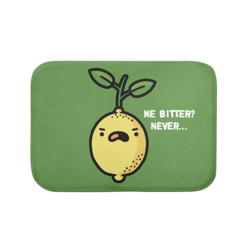 Bitter Home Bath Mat by Randyotter