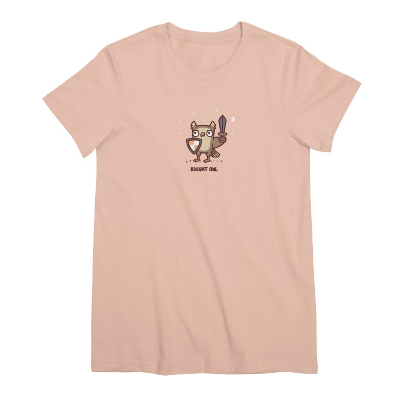 Knight owl Women's Premium T-Shirt by Randyotter