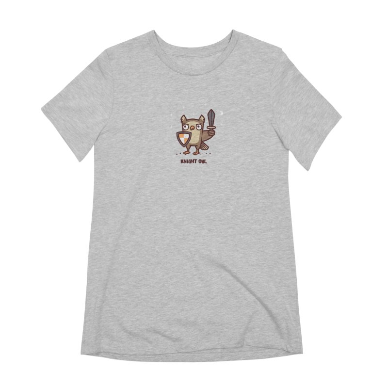 Knight owl Women's Extra Soft T-Shirt by Randyotter