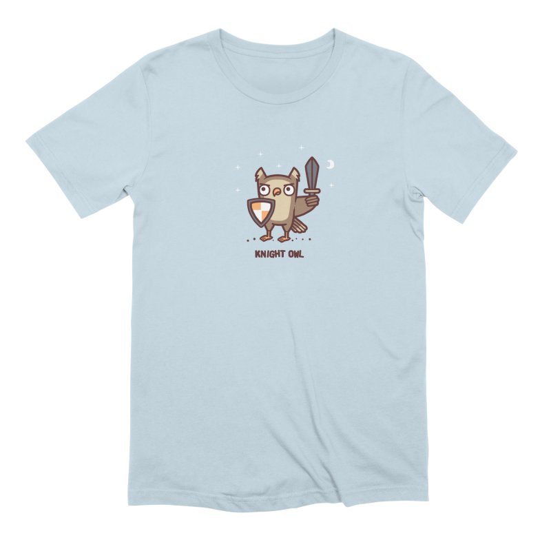 Knight owl Men's Extra Soft T-Shirt by Randyotter